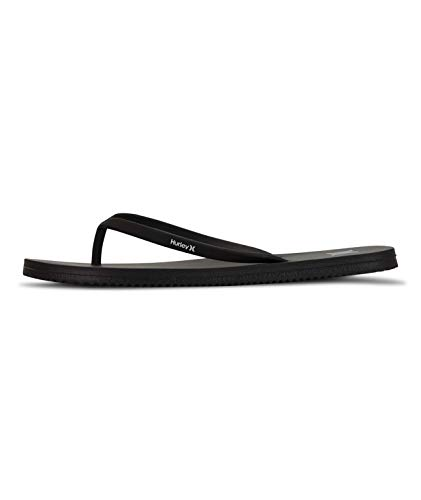 Hurley W One&Only Sandal Chanclas, Hombre, Negro, 36.5 EU