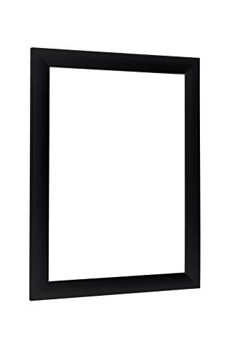 NiRa35-Top Cadre Photo 50x70 cm en Couleur Noir Matt avec Verre Acrylique antireflet