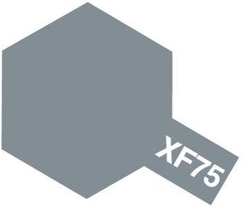 タミヤ アクリルミニ(つや消し) XF75 呉海軍工廠グレイ