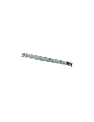 Réglette LED étanche 3W 30cm avec interrupteur - Blanc Chaud 2700K - Sans alimentation 12V