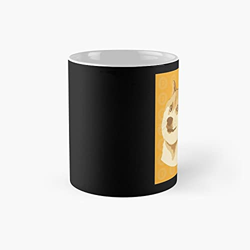 Dogecoin Classic Mug - Unique Gift Ideas For Her From Daughter Or Son Cool Novelty Cups 11 Oz.