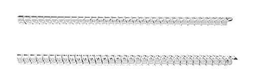 Lot de 2 ajusteurs de taille de bague élastiques invisibles en spirale pour bague lâche 3 mm pour femme 5 mm pour homme