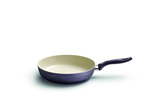 Poêle céramique Cire induction Violet 28 cm