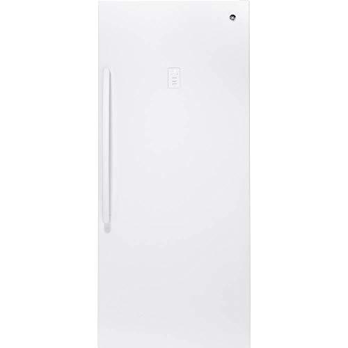 GE - 21.3 Cu. Ft. Frost-Free Upright Freezer - White Model:FUF21SMRWW