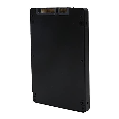 Adaptador M.2 NGFF SSD a SATA3.0, Convertidor de Adaptador de Caja M.2 SSD a SATA III, Convertidor de Caja SATA portátil con Estuche, Fácil instalación(Negro)