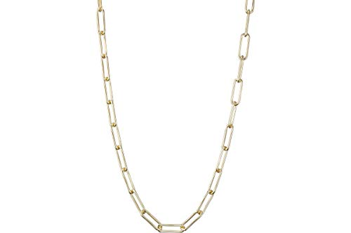 Lui de Clio Collar Lui de Clio en plata 925, oro de 18 K, 20 g