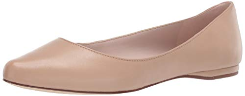 NINE WEST Womens Speakup Flat Light Natural 9.5 M
