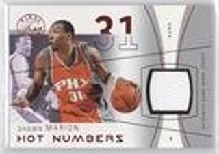 Shawn Marion #116/175 (Basketball Card) 2003-04 Flair Final Edition - Hot Numbers Jerseys - Red #HN-SHM