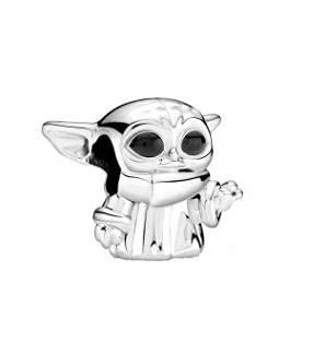 Star Wars colgante Charms cuenta,Charm Colgante dijes en Plata de Ley con star wars maestro yoda, Abalorios Charms Colgantes de Star Wars con Pulsera Pandora & Europeo