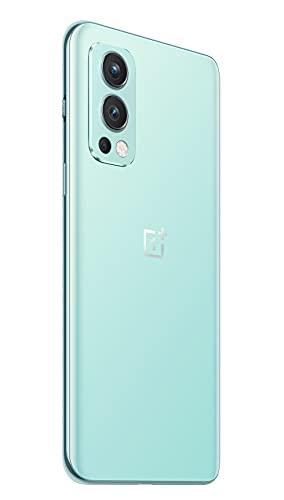 OnePlus Nord 2 5G 12 GB RAM 256 GB SIM-freies Smartphone mit Dreifachkamera und 65W Warp Charge - 2 Jahre Garantie - Blue Haze - 4