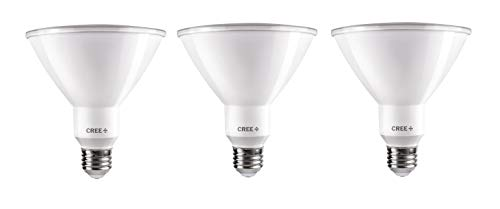 Cree 120W Equivalent Bright White (3000K) PAR38 Dimmable Exceptional Light Quality LED 40 Degree Flood Light 3 Pack