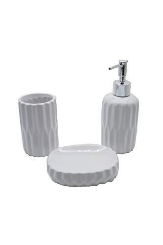 -Juego de Accesorios para Baño -Kit Accesorios funcionales para Cuarto de baño...