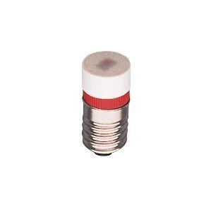 S+H Chip-LED 10x22 mm Sockel E10 230 Volt AC/DC warmweiß mit Brückengleichrichter