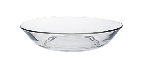 Duralex 519190M95221990 Lys Calotta Teller tief, 17.5cm, Glas, transparent, 6 Stück