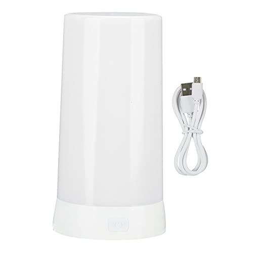 Uxsiya Vela LED sin llama LED Luz de noche 4 Modos de iluminación para sala de estar (blanco)