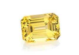 Color Gems 7.09 Ratti Natural Yellow Sapphire Pukhraj Cultured Golden Colour Gemstone