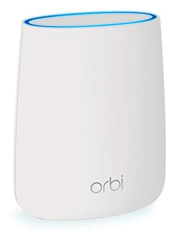 Netgear Orbi WiFi Mesh AC2200 RBS20, repetidor WiFi adicional, cobertura tribanda de hasta 100 mq
