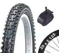 Bicycle Tyre Bike Tire - BMX / Mountain Bike - 20 x 2.125 - With Schrader Tube
