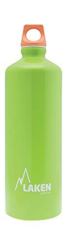 Laken Futura Botella de Agua, Cantimplora de Aluminio Boca Estrecha 1L, Verde