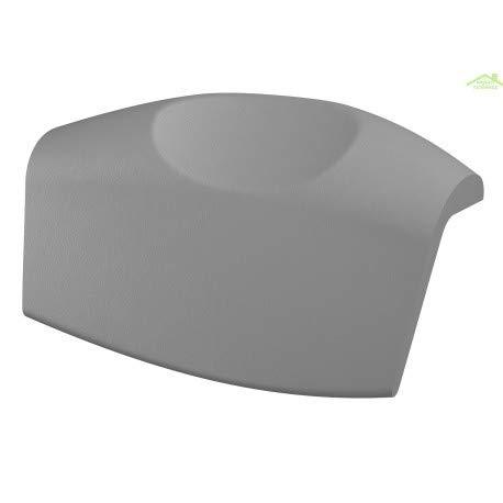 RiHO Neo AH05 Kopfstütze für Badewanne grau