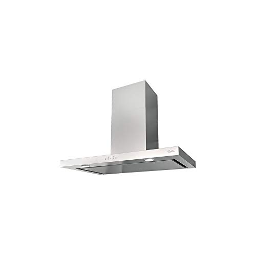 Hotte decorative murale Roblin 6064017 - Hotte aspirante Box - largeur 90 cm - Débit d'air maximum (en m3/h) : 720 - Niveau sonore Décibel mini. / maxi. (en dBA) : 48 / 65