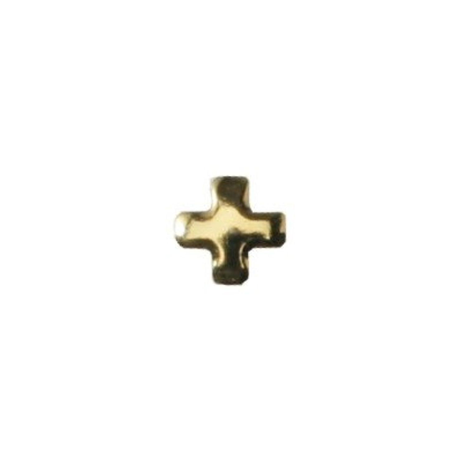 誘惑する糞ロシアピアドラ スタッズ クロスレット 3mm 50P ゴールド