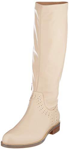 Geox Damen D Brogue S B Hohe Stiefel, Beige (Skin/Lt Gold Ca52l), 40 EU