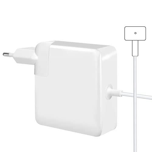 Compatible avec Le Chargeur Mac Pro, Adaptateur d'alimentation de sécurité T-Tip Mag 60W Chargeur de Remplacement, adapté pour Mac Air 13 Pouces (modèles Avant la mi-2012)