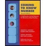 Coming to Know Number: A Mathematics Activity Resource...
