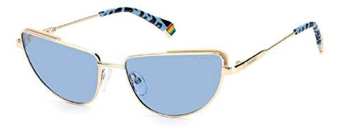 Polaroid Gafas de sol PLD 6129 S QWU C3 oro azul lentes polarizadas