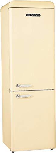 SCHNEIDER CONSUMER SL 250 SC-CB A++ nevera y congelador Independiente Crema de color 251 L A++ - Frigorífico (251 L, N-ST, 42 dB, 4,5 kg/24h, A++, Crema de color)