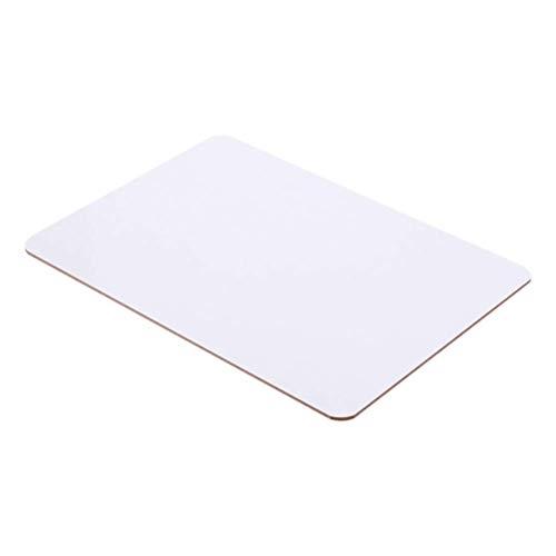 Trockenabwischbares Knietafel, doppelseitiges Whiteboard, Lern-Whiteboards für Lehrer, Studenten, Zuhause, Büro, 4 Stück (Größe : 4 Stück)