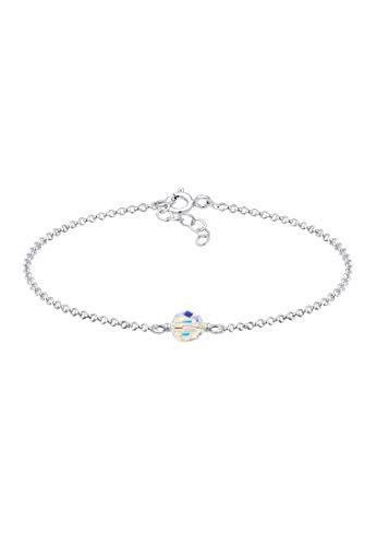 Elli Armband Kinder Kugel Bead Swarovski® Kristalle 925 Silber
