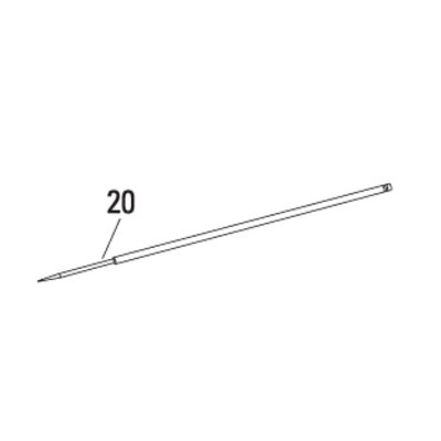 DeVilbiss 802627 Needle for .35mm Nozzle