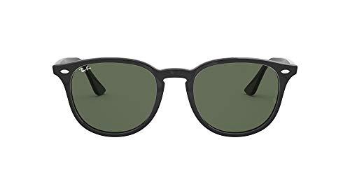 Ray-Ban 4259, Occhiali da Sole Unisex Adulto, Nero (Green Classic), 51