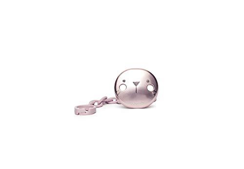 Suavinex - Cadena para chupete, color rosa