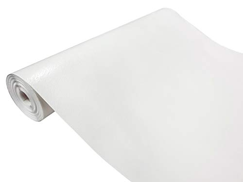 d-c-fix, Folie, Design Leder weiß, selbstklebend, 45 cm breit, je lfm