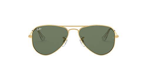 Ray-Ban 9506s Gafas de sol, Gold, 50 Unisex-Niño