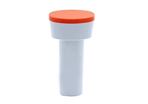 Usha Nutripress (361S) 200-Watt Cold Press Slow Juicer (White/Orange)
