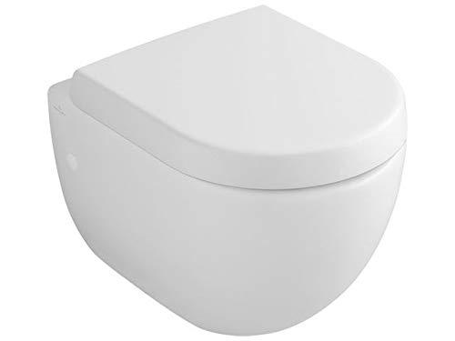 Villeroy & Boch Subway Compact Wand-Tiefspül-WC, weiß mit CeramicPlus