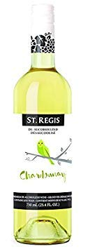 St. Regis Chardonnay Non-Alcoholic Wine (Pack of 2)