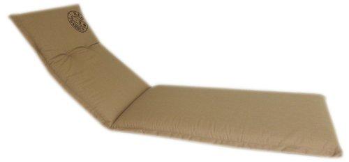 beo Alina LI Coussin avec Bordure pour Chaise Longue à roulettes 64 x 195 cm Épaisseur 7 cm