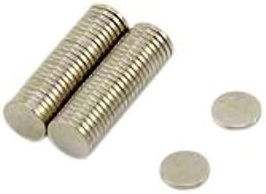 first3magnets F047-10 4 10 unidades, 2 x 7 mm, N42, 0,68 kg de fuerza de sujeci/ón Im/án de neodimio