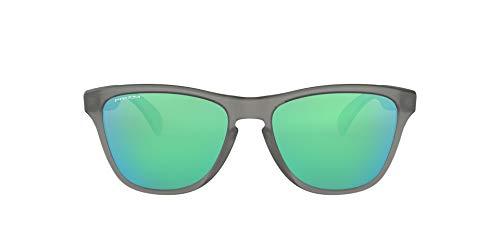 Oakley Youth Kids' OJ9006 Frogskins XS Polarized Round Sunglasses, Matte Grey Ink/Prizm Sapphire, 53 mm