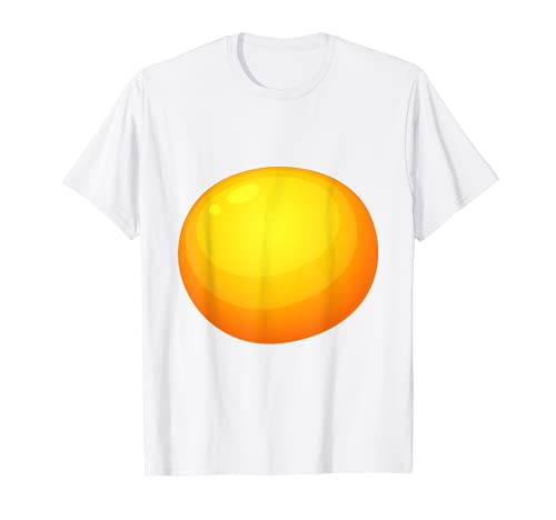 Disfraz de yema de huevo diablo disfraz Camiseta