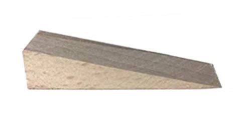 6 cuñas de madera maciza de haya tamaño grande, cuñas para puertas
