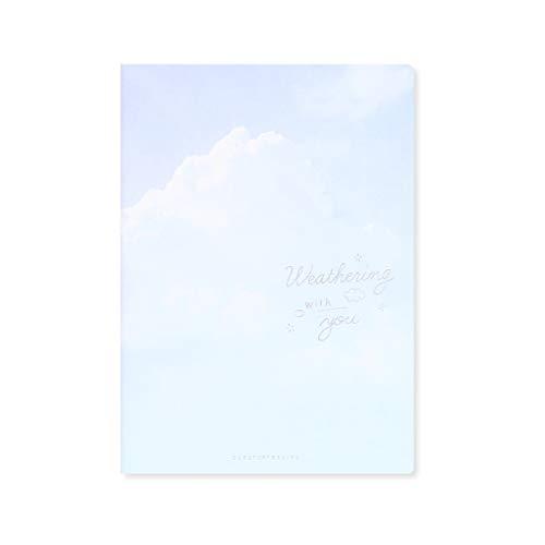XXT Cuaderno de notas de estudio simple grueso y exquisito cuaderno de oficina (color: B, tamaño: 18,4 x 25,7 cm)