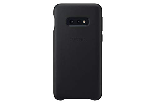 Leather Cover für Galaxy S10e Schwarz