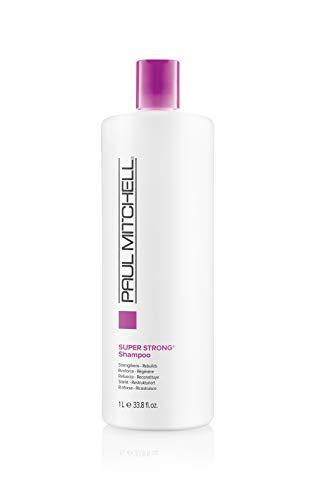 Paul Mitchell Super Strong Shampoo - schützendes und reparierendes Kräftigungs-Shampoo für geschädigtes und kraftloses Haar, 1000 ml