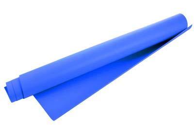 HELIOS Kunststoff-Hintergr& blau 100x130cm